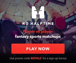 No Halftime - Promo Code: ROYALS